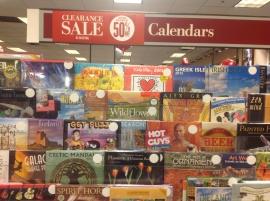 Barnes and Nobles calendar sale  .JP