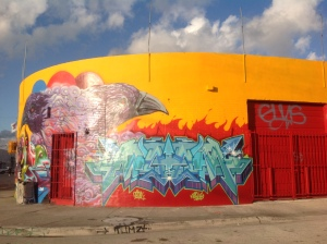 Wynwood Graffiti building