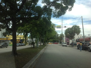 Current NW 5th avenue in Wynwood