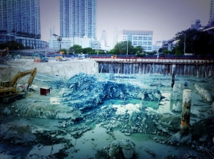Under construction Brickell CityCenter