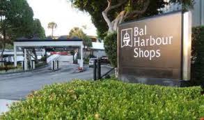 Bal Harbor Shops signage