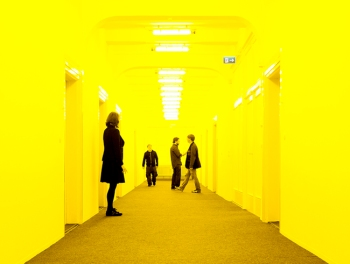 Exhibit - installation from Olafur Eliasson