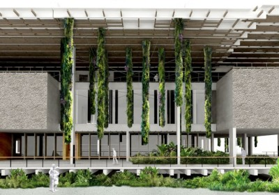 PAMM ( photo from Herzog & de Meuron Architects )