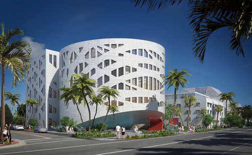 The future Faena Forum  ( Photo from Faena and OMA )